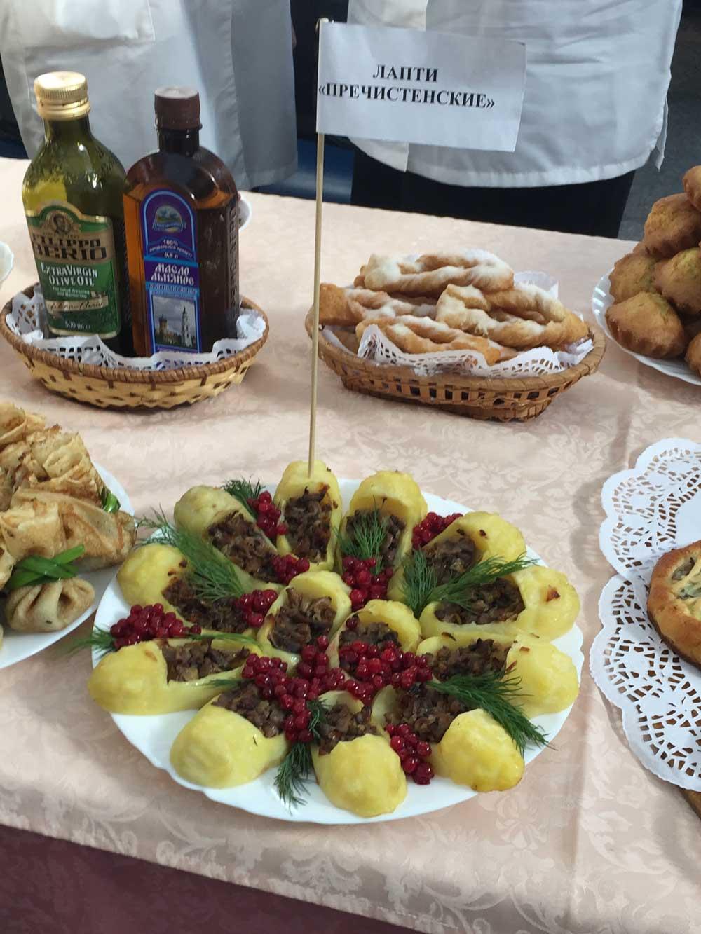 Фестиваль постной кухни в городе Ярославле. Первомайское потребительское общество.